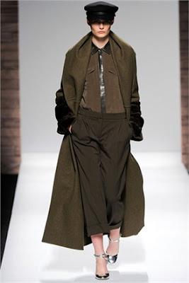 Military chic Trend - Max Mara - Fall Winter 2012