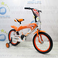 16 Inch Maximus EG1254 Car BMX Kids Bike
