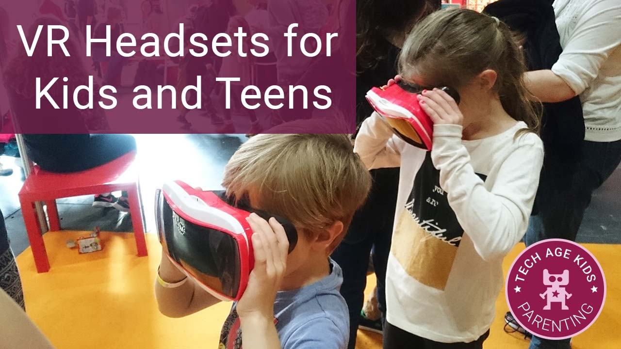 Vr Headsets For Kids And Teens Age Recommendations