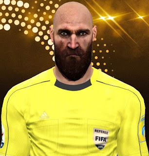 PES 2017 Referee Facepack