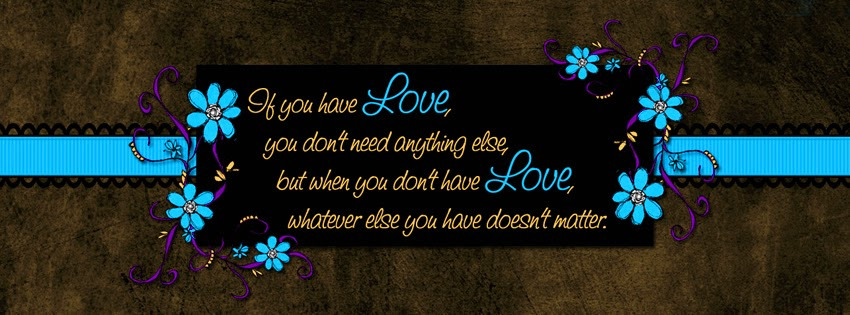 nice love message facebook cover