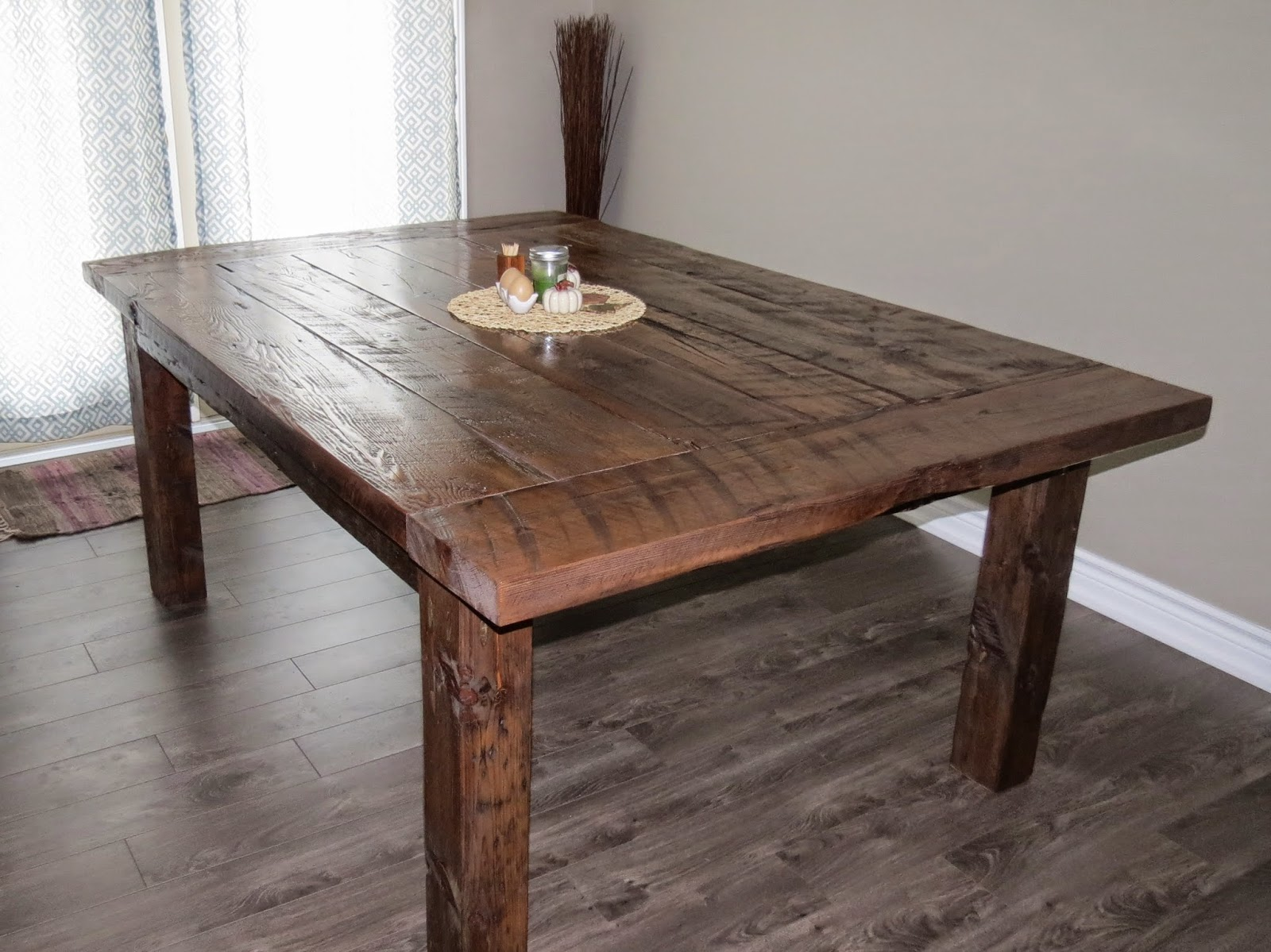 Yellow Cottage Furniture Reclaimed Barn Wood Farmhouse Table
