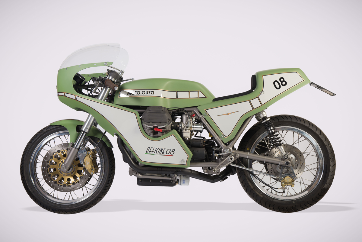 What Might Have Been Banfugliera Moto Guzzi 1000sp Return Of The Cafe Racers