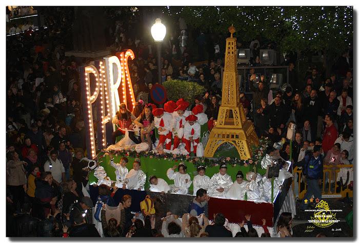Carroza de la Torre Eiffel