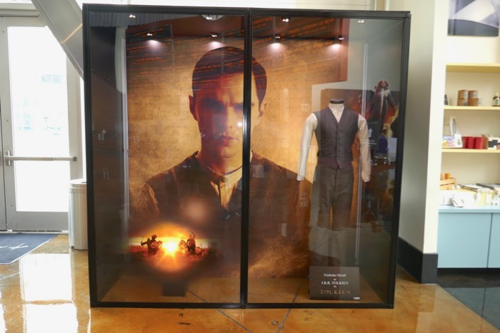 Tolkien film costume exhibit