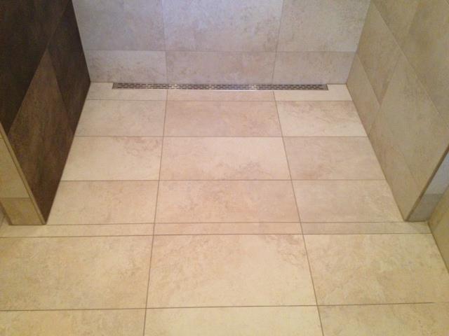 Laticrete Conversations Linear Drain Curbless Shower