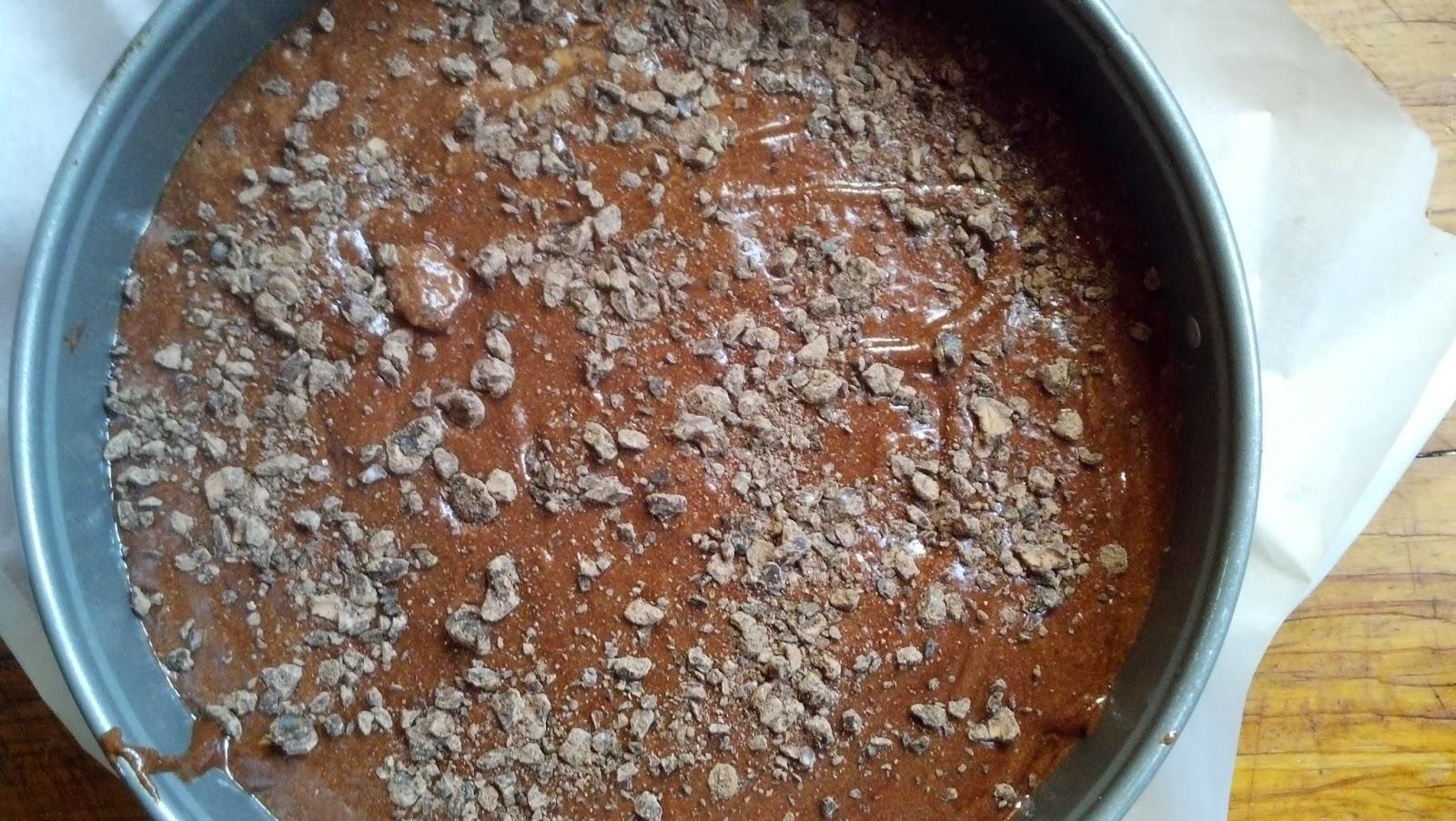 Flourless Chocolate Cake With Cocoa Nibs
