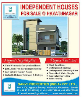 sanvi properties india pvt  ltd