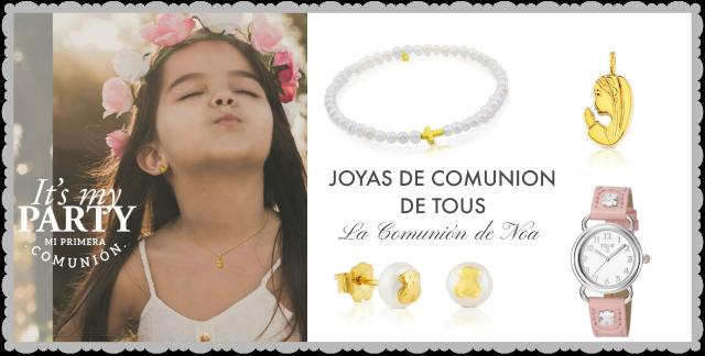joyas de comunion Tous 2016 - Blog La Comunión de Noa
