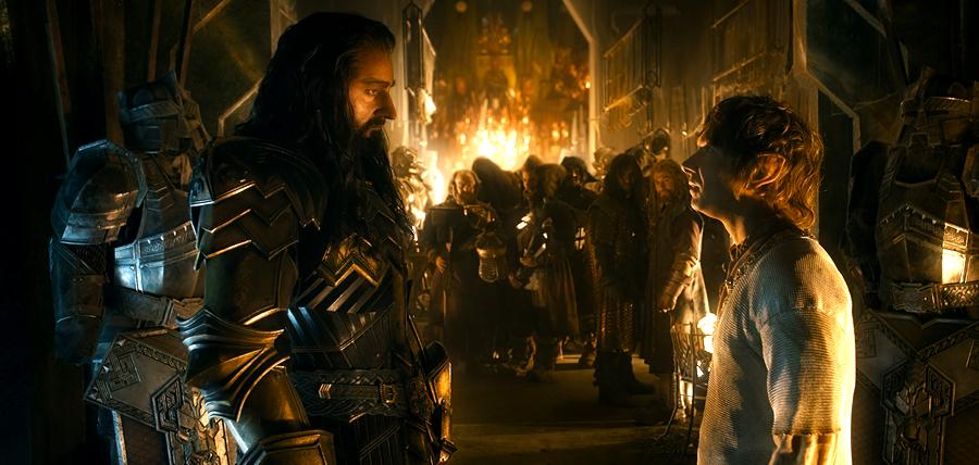 Hobbitul: Bătălia Celor Cinci Oştiri - Thorin şi Bilbo