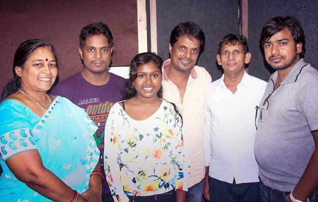 बबिता वर्मा संगीतकार दामोदर राव के गाने के रिकॉर्डिंग पर पहुंची ! | Babita Verma went on recording a song composer Damodar Rao!