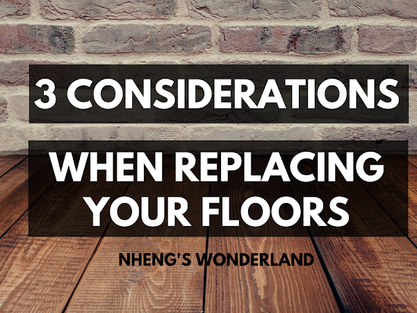 3 Considerations When Replacing Your Floors