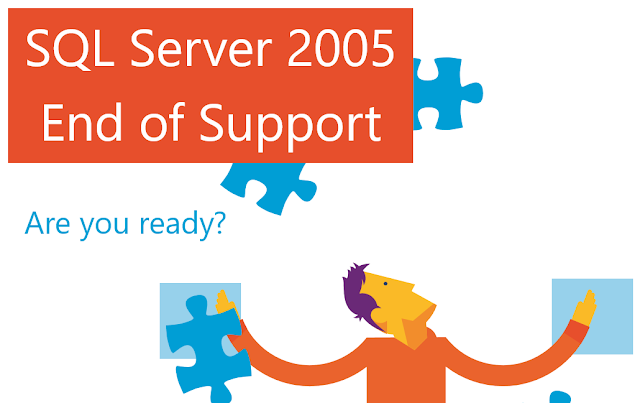 Microsoft Ends Support To SQL Server 2005