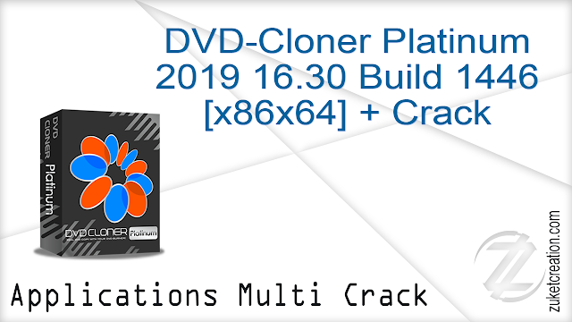 DVD-Cloner Platinum 2019 16.30 Build 1446 [x86x64] + Crack   |  142 MB