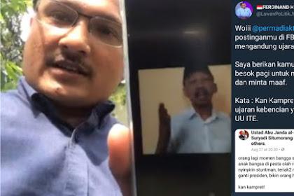 Diancam Dilaporkan Elit Demokrat, Abu Janda Keok Langsung Hapus Postingan di Facebook dan Ngeles Begini!