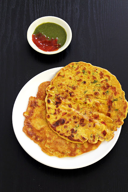 Commonly Known As Chilla This Is One Of Indias Staple Snacks And Tastes Great With Green Chutney You Can Add Chopped Veggies To It Besan Cheela Recipe
