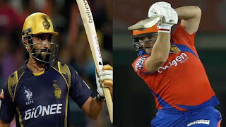 gujarat lions vs kkr 3rd match ipl 2017