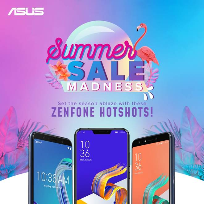 ASUS Starts Summer Sale Madness Promo, Up to PHP 5,000 Price Slash on Select Zenfones
