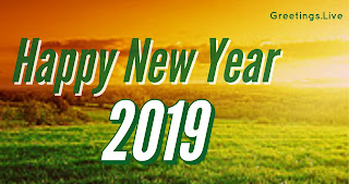 Sun rise new year first greetings 2019 wishes picture