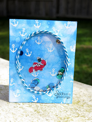 SEAson's Greetings Card by Danielle Pandeline for Newton's Nook Designs