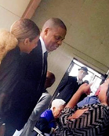 Photos: Beyonce And Jay Z Spotted At Her Uncle's Funeral In Houston