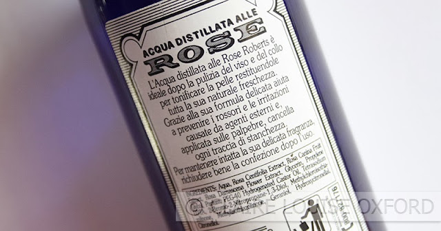Acqua distillata alle Rose tripla superiore di Roberts | Review