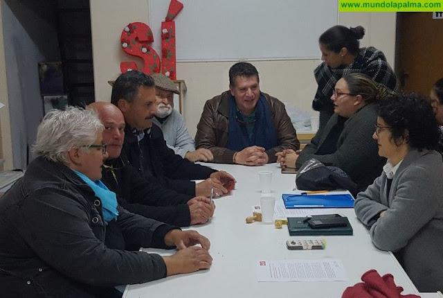 Primera reunión de la nueva ejecutiva del PSOE en El Paso