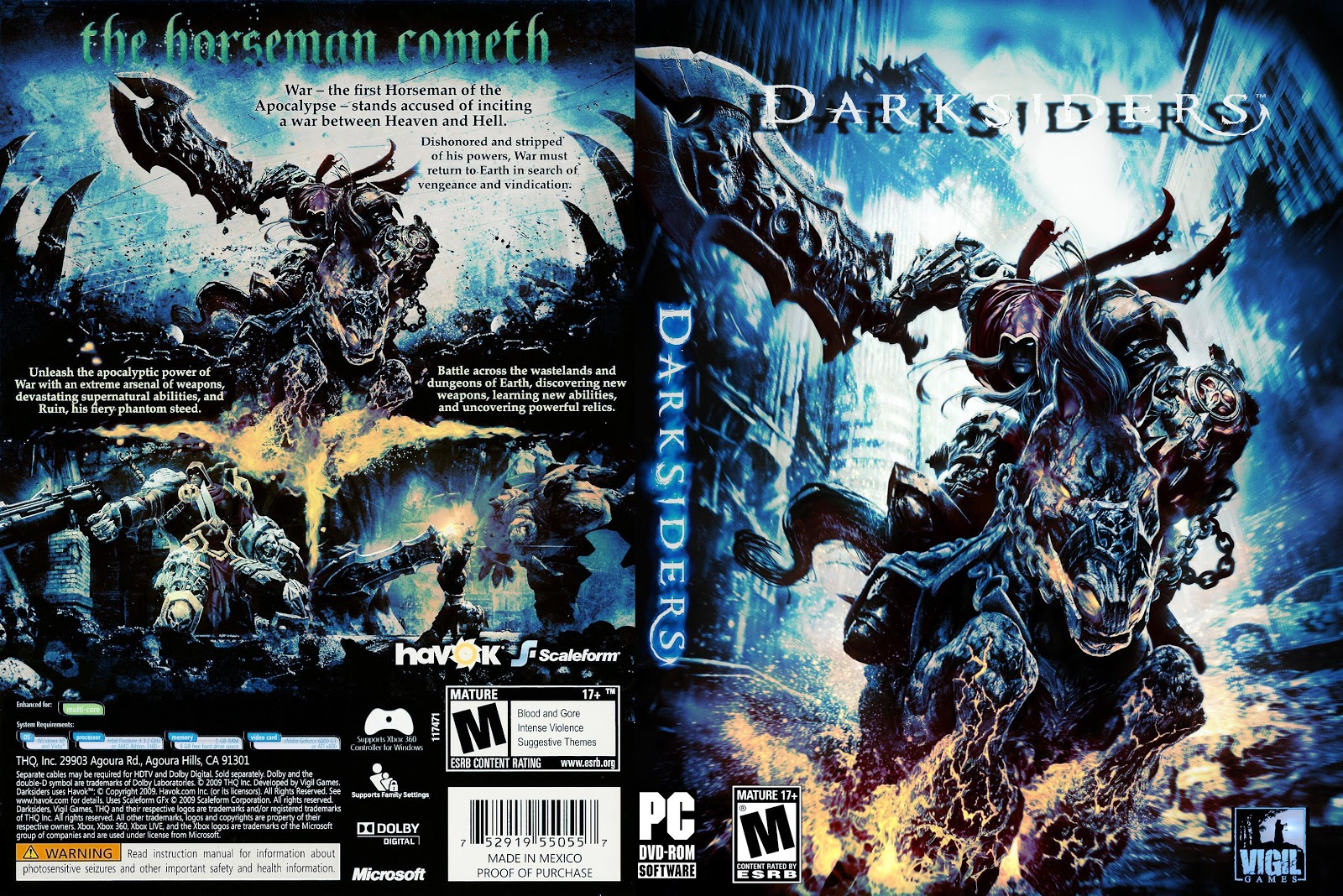 Capa Darksiders PC