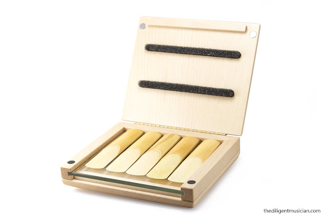 Reeds'n'Stuff Reed Case Review Open Front Reeds