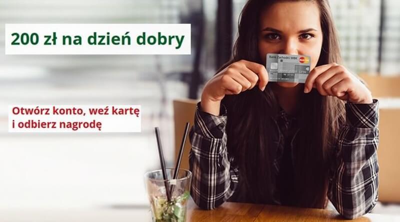 Nagroda 200 zł za Konto Godne Polecenia i kartę kredytową w BZ WBK