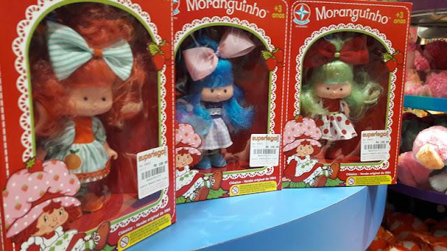 Bonecas da coleção Moranguinho da Estrela à venda