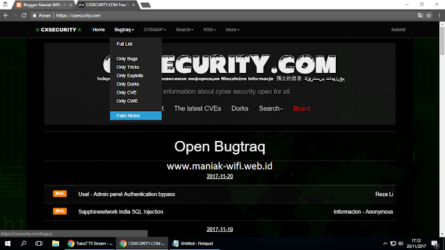 Free Download Website CxSecurity Full