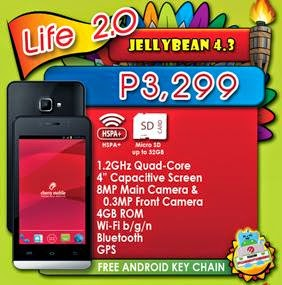 Cherry Mobile Life 2.0, Cheapest Quad Core For Php3,299