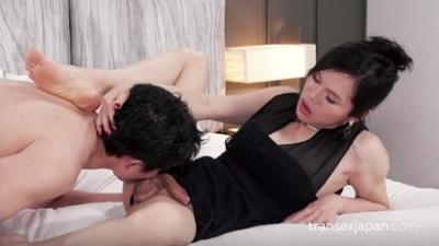 Transexjapan – Mimi Male Slave Forced Cumshot