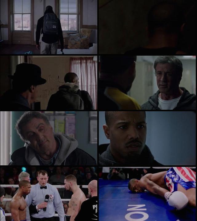 Creed 2015 English 480p BRRip 350MB ESubs