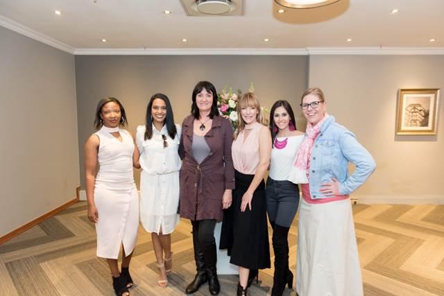 Left to Right: Elizabeth Mabusela, Kriya Gangiah, Roz Sadham, Helen Desbois, Stefanie Pereira  and Teresa Coetzee