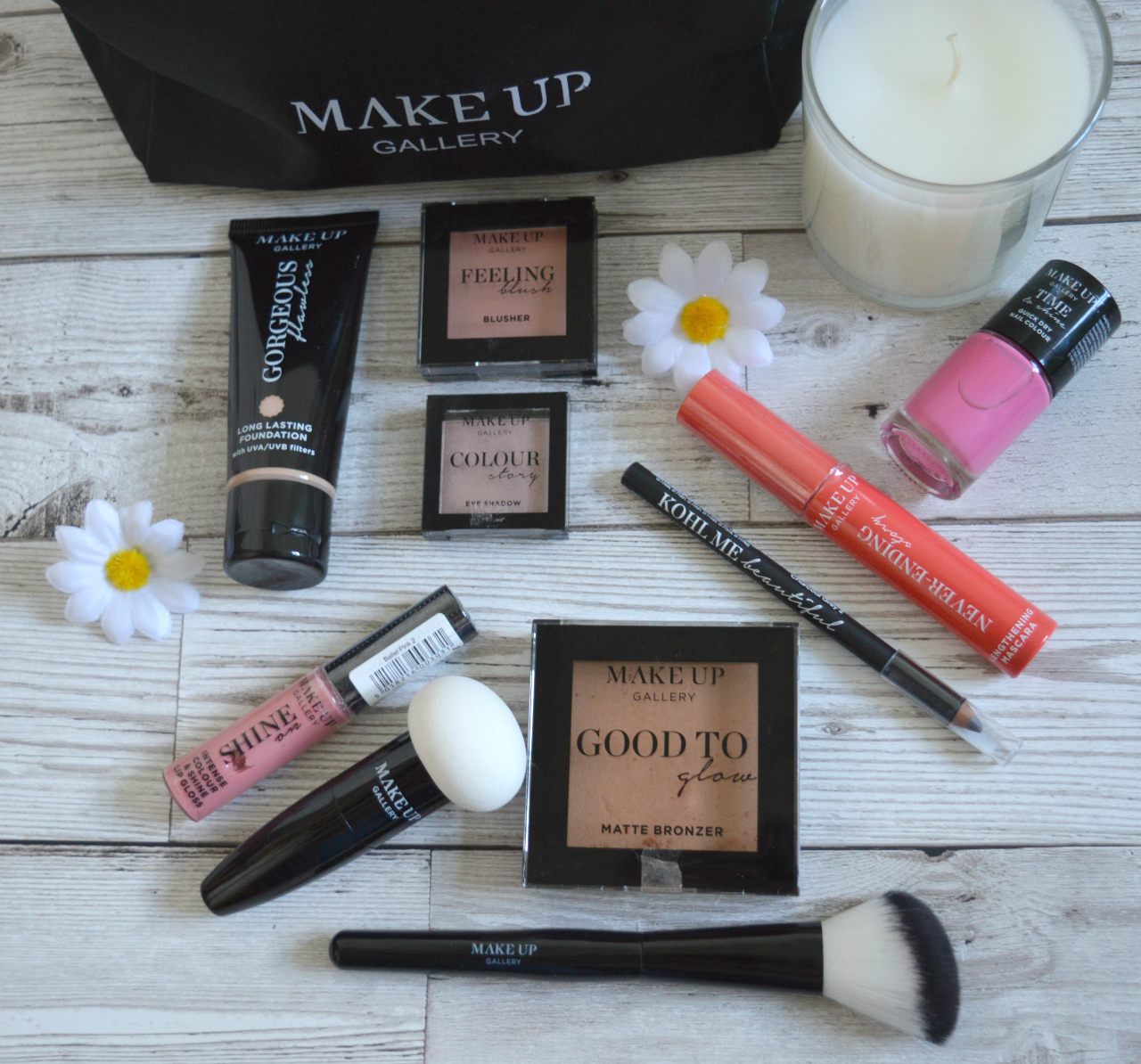 Poundland Make Up Gallery £10.00 Make Up Challenge
