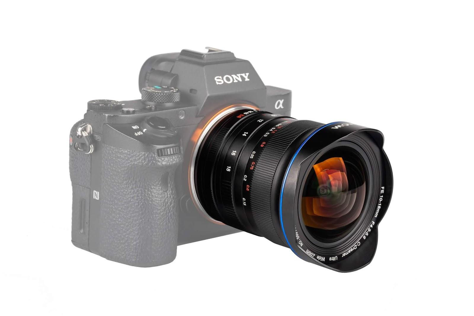 Объектив Laowa 10-18mm f/4.5-5.6 FE и камера Sony