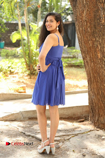 Actress Prasanna Stills in Blue Short Dress at Inkenti Nuvve Cheppu Movie Platinum Disc Function  0196.JPG