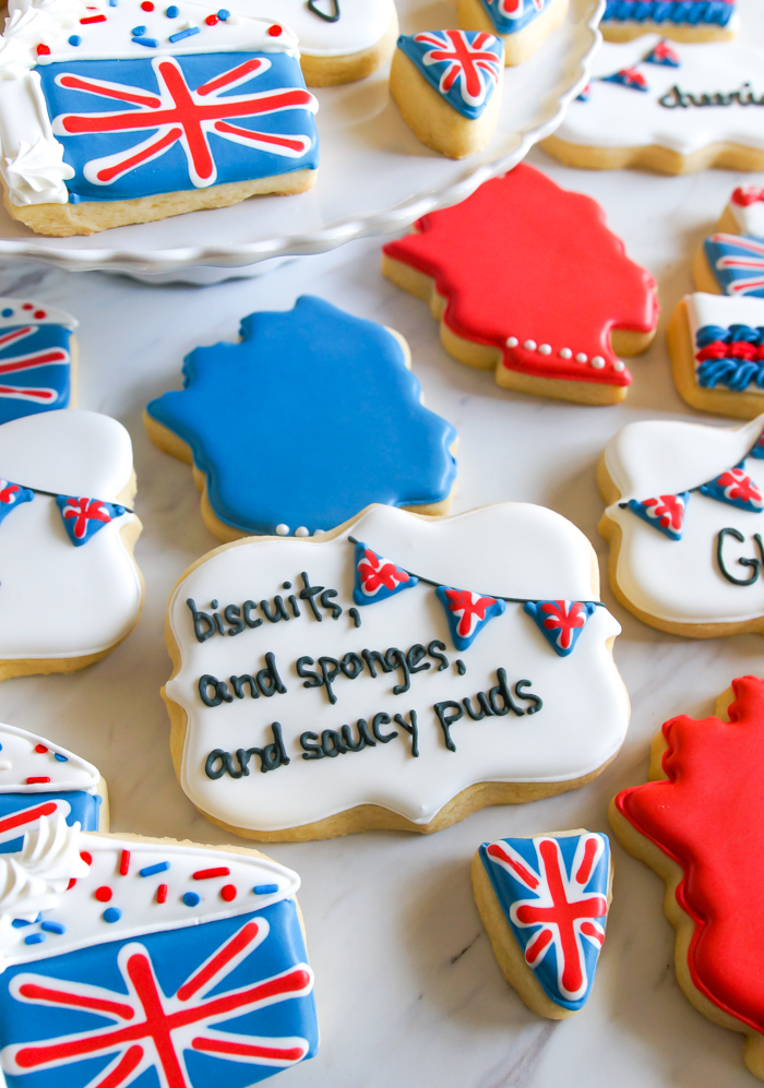 GBBO Great British Baking Show-inspired cookies