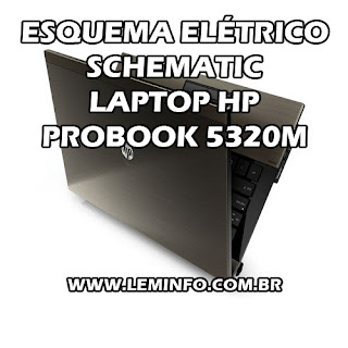 Esquema Elétrico Notebook / Laptop HP Probook 5320M Service Manual schematic Diagram Notebook / Laptop HP Probook 5320M Esquema Eléctrico Notebook / Laptop HP Probook 5320M