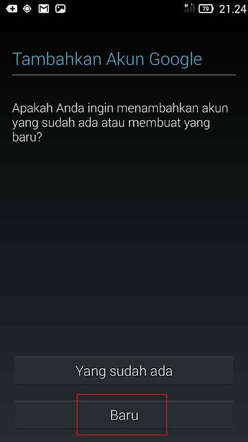 Membuat Email Android