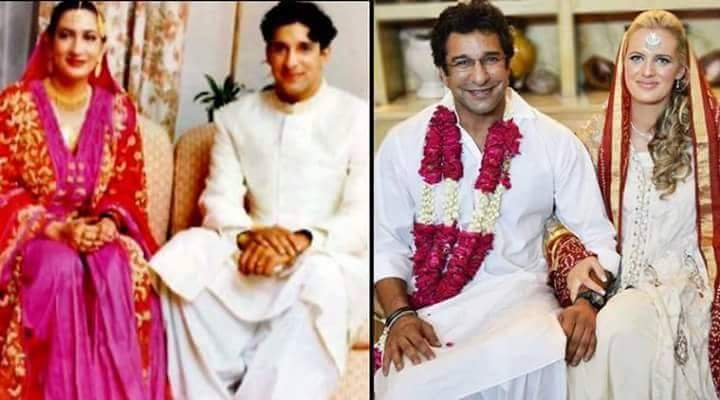 Wasim Akram And Shaniera Latest Pictures Images Wedding Photo His Wife Wallpapers
