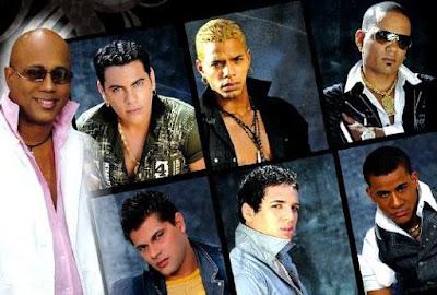Foto de los rostros de La Charanga Habanera