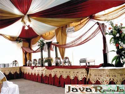 Rental Tenda Dekorasi VIP - Pernikahan