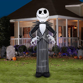 Men's Giant Disney Jack Skellington Airblown