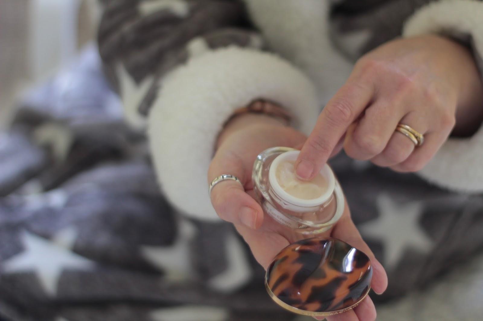 Lucia Magnani rejuvenating eye cream.