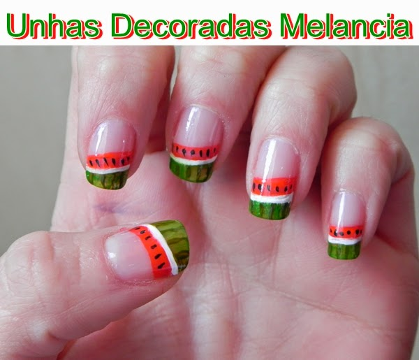 Imagenes de uñas decoradas con frutas - decoracion de uñas paso a paso con lindos diseños