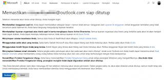 Cara Menonaktifkan Akun Microsoft