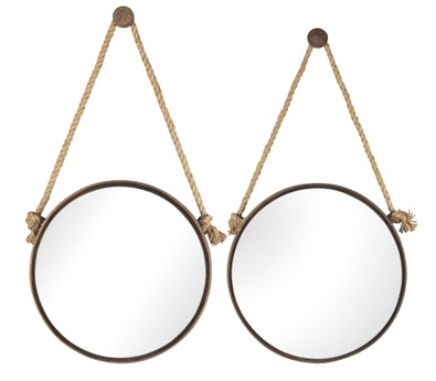 Rope Mirrors Shop Or Diy Completely Coastal